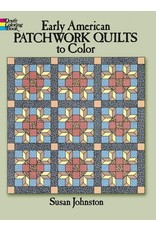 Early American Patchwork Quilts to Color