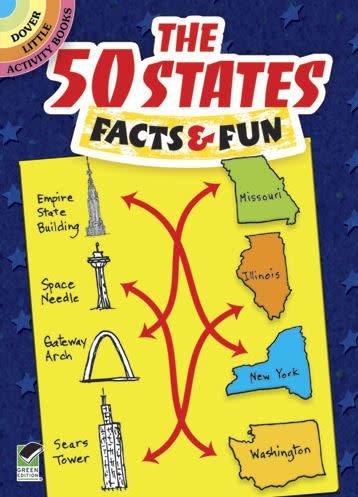 Kids, Woodworth- 50 States: Facts & Fun