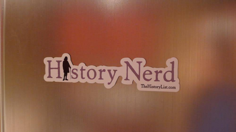 The History List History Nerd Magnet