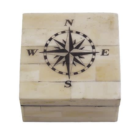 Bone Box - Compass Rose