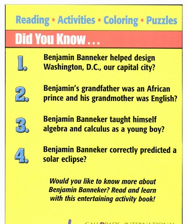 Benjamin Banneker: Mathematical and Scientific Genius