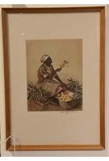 Framed- Elizabeth Verner Print, Charleston Flower Seller
