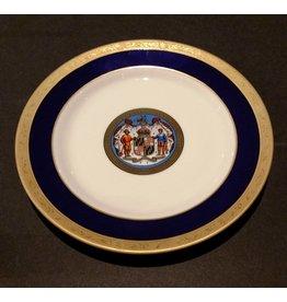 "Maryland Seal China Plate 10"""