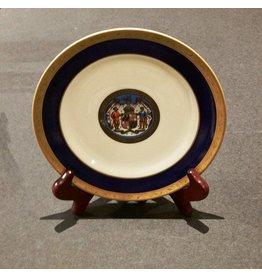 "Maryland Seal China Plate 7"""