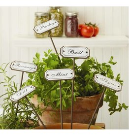 Set of 6 Garden Markers