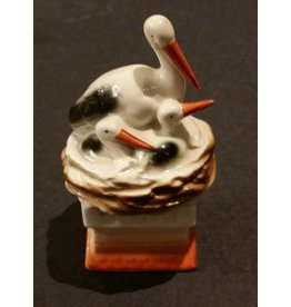 Porcelain Stork Bank