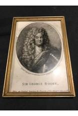 Framed- Sir George Rooke Print