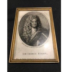 Sir George Print, Framed