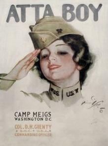 "Unframed Prints ""Camp Meigs, Atta Boy"""