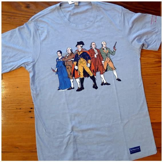 "The History List ""Revolutionary Superheroes"" Shirt"