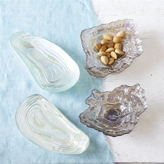 Oyster Shell Dish, Assorted