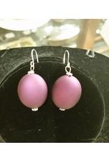 Pair of Earrings - Purple