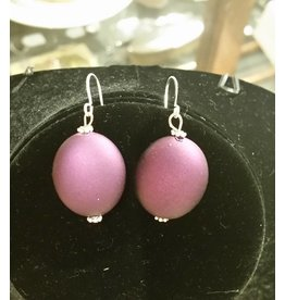 Pair of Earrings - Purple