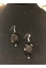 Pair of Onyx Earrings