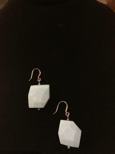 Pair of Light Blue Earrings