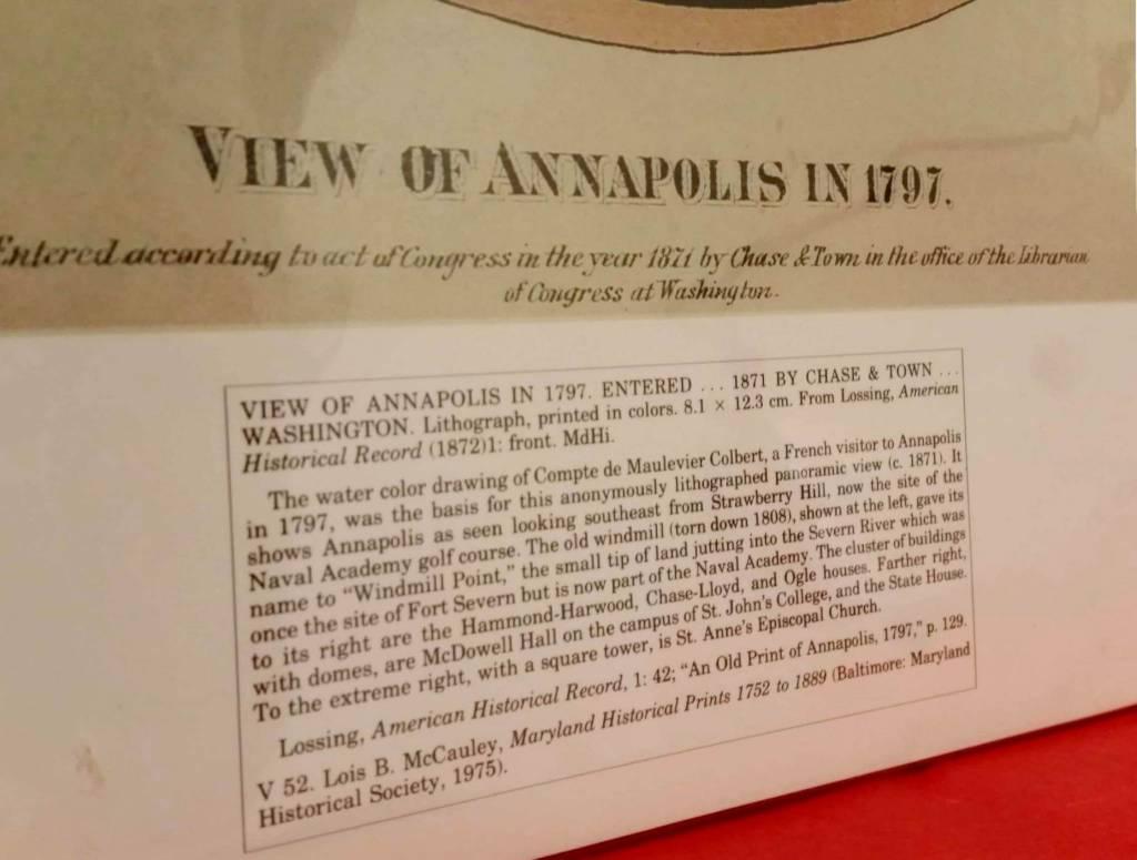 Aquatint, Annapolis 1797