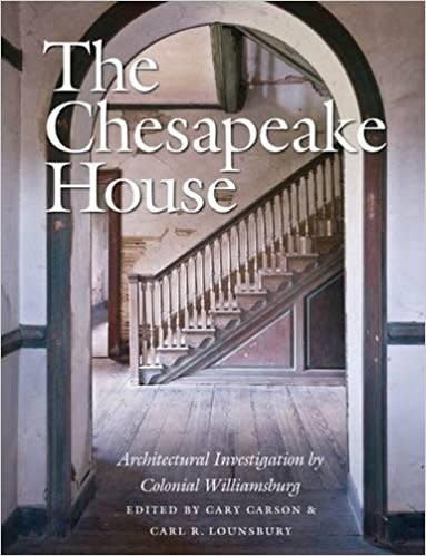 The Chesapeake House: Architectural Investigation by Colonial Williamsburg