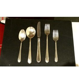 Civil War Era Silver-plated Service for 6