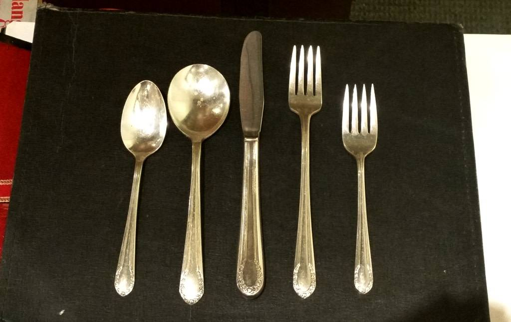 Civil War Era Silver-plated Service for 6