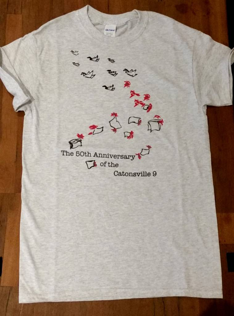 Catonsville Nine 50th Anniversary Shirt