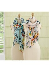 Butterfly Scarf, Blue