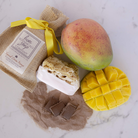LUX BOTANICALS SOAP W/ SPONGE TROPICAL COCOA MANGO