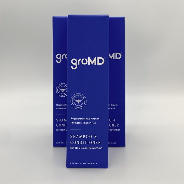 groMD groMD HAIR LOSS SHAMPOO & CONDITIONER