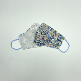 DTLA BLUE FLOWER MASK FROM KOREA