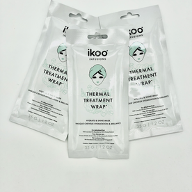 IKOO IKOO THERMAL TREATMENT WRAP HYDRATE AND SHINE MASK