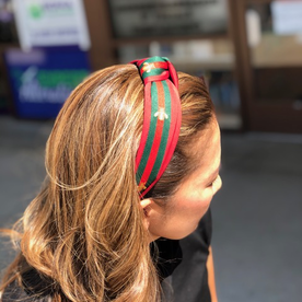 DTLA DESIGNER INSPIRED HEADBAND - RED