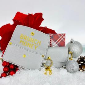 SANTA BARBARA CREDIT CARD POUCH-BRUNCH MONEY