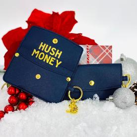SANTA BARBARA CREDIT CARD POUCH-HUSH MONEY
