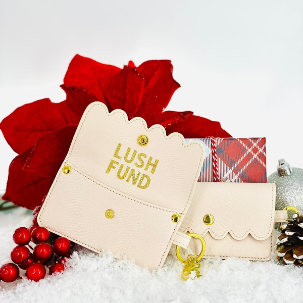 SANTA BARBARA CREDIT CARD POUCH-LUSH FUND