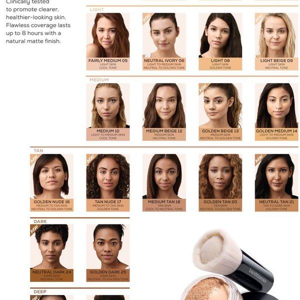 BAREMINERALS Bareminerals Matte Golden Medium 14