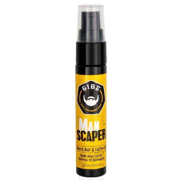 GIBS Gibs Beard Oil Man Scaper