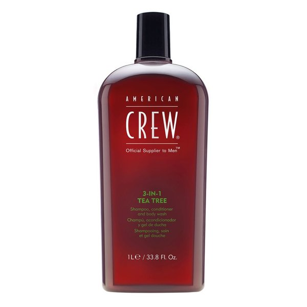 A. CREW American Crew 3-in-1 Tea Tree Liter