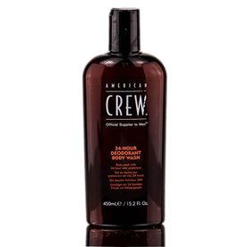 A. CREW AMERICAN CREW 24-HOUR DEODORANT BODY WASH
