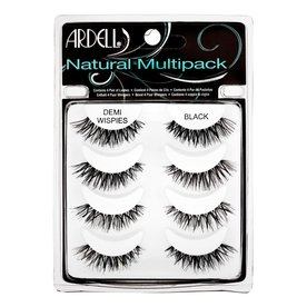 ARDELL ARDELL NATURAL MULTIPACK DEMI WISPIES BLACK