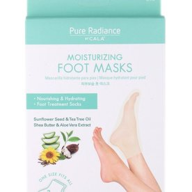 CALA CALA PURE RADIANCE MOISTURIZING FOOT MASKS