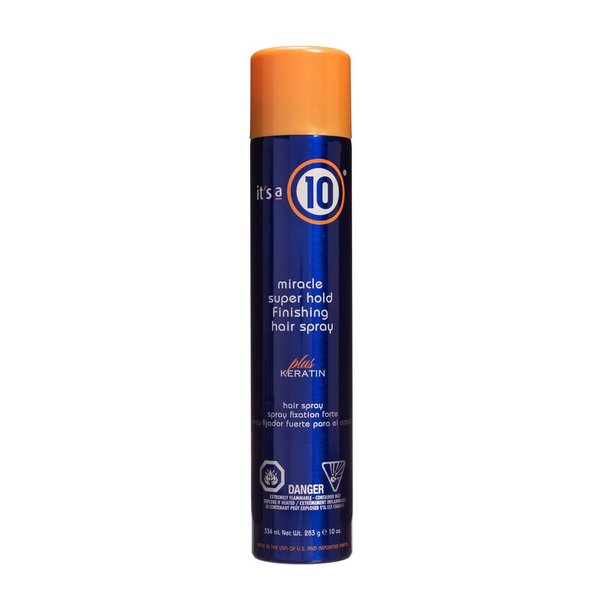 Its a 10 Miracle Super Hold Keratin Spray