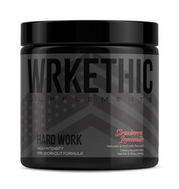 Wrkethic Hard Work Pre-Workout Strawberry Lemonade