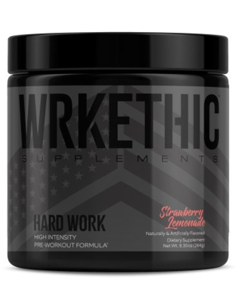 Wrkethic Hard Work Pre-Workout Strawberry Lemonade
