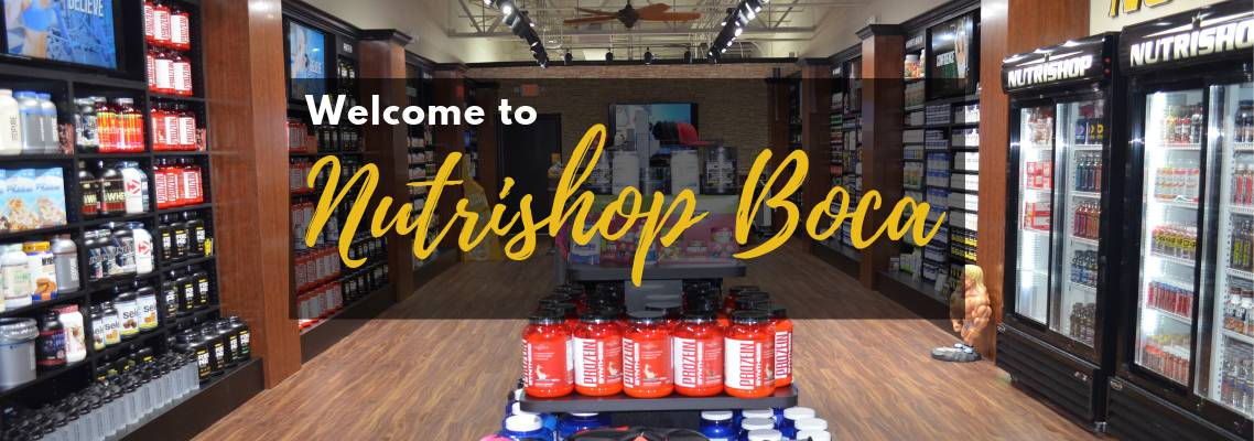 Welcome To Nutrishop Boca Raton - Nutritional Supplements and Vitamins
