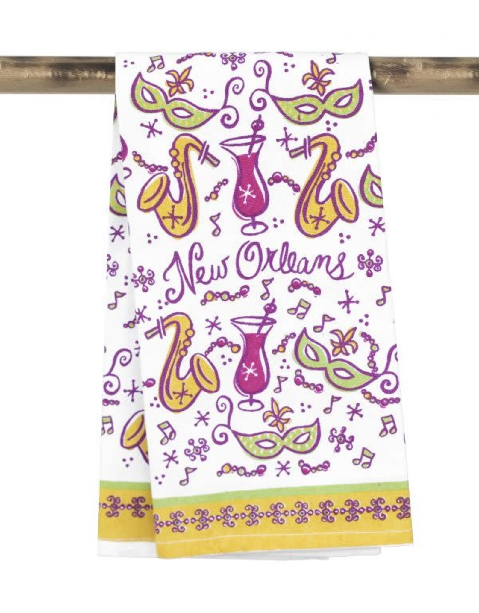 Kitchen Towel- N.O. Icons
