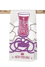 Kitchen Towel -Beads Booze Beignet