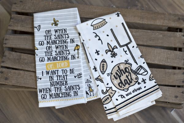 Kitchen Towel-Saints Go Marching In