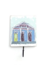 Wall Hook – Blue Creole Cottage