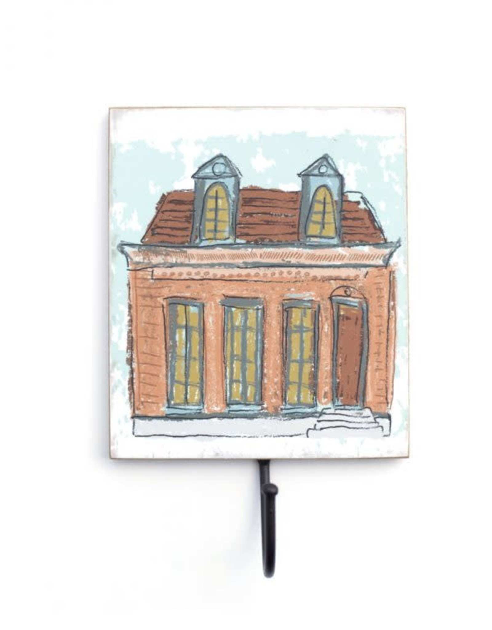 Wall Hook – Peach Creole Cottage