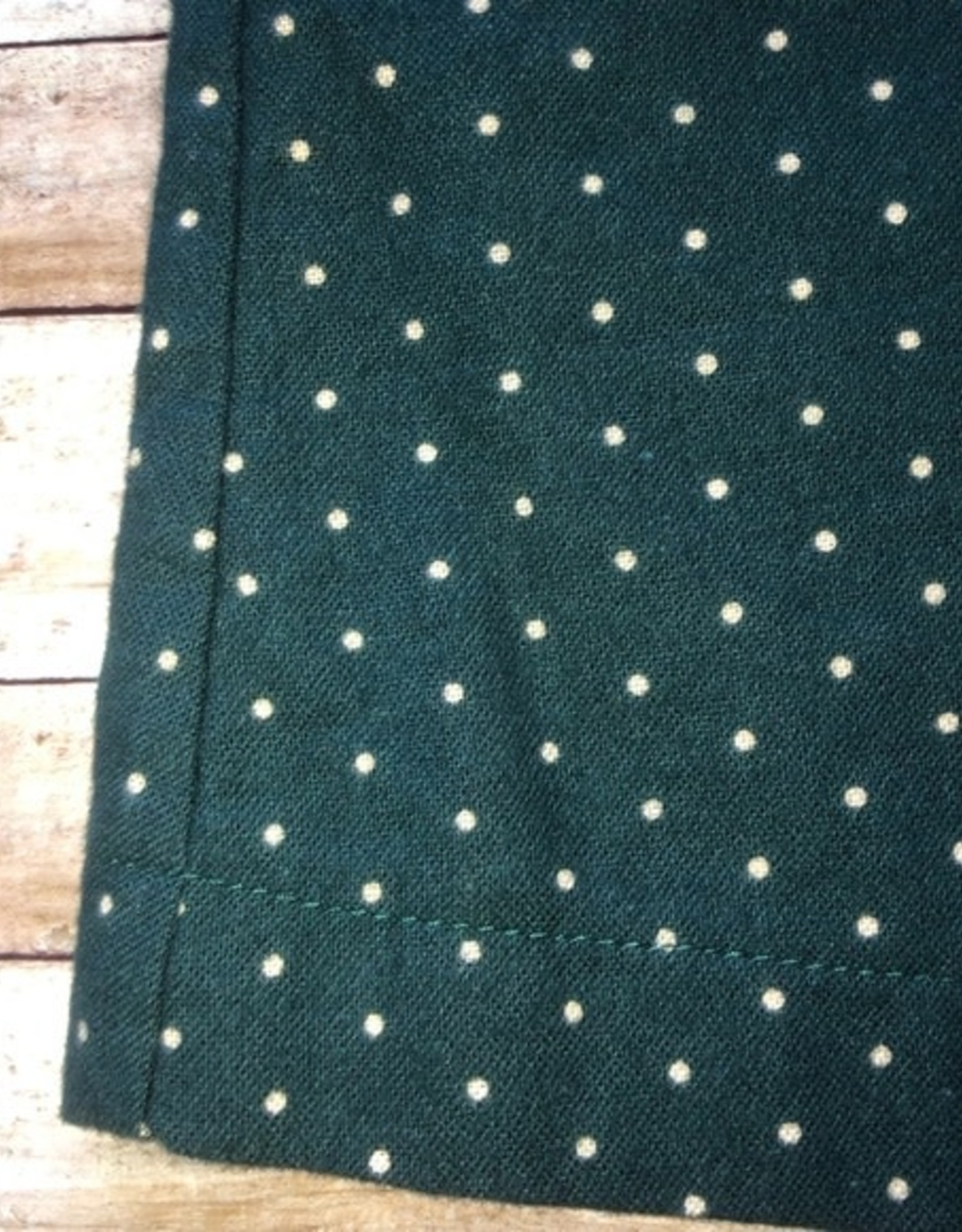 Polka Dot Skirt w/Front Buttons