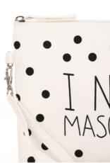 I Need Mascara Cosmetic Bag